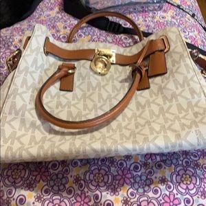 MK Vanilla Hamilton bag